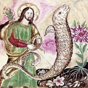 Jesus and Serpent