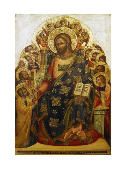 Jesus and St Peter-Lorenzo Veneziano-Giclee Print