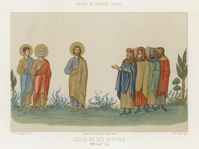 Jesus and the Apostles--Giclee Print