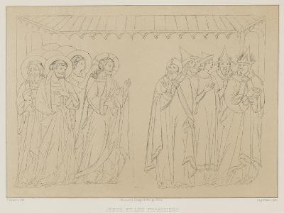 Jesus and the Pharisees--Giclee Print