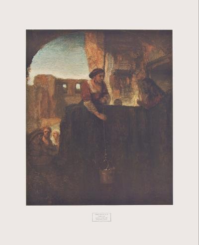 Jesus and the Samarite-Rembrandt van Rijn-Collectable Print