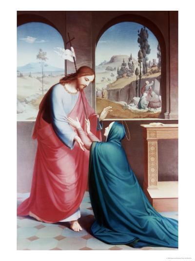 Jesus Appears to His Mother-Gebhard Flatz-Giclee Print