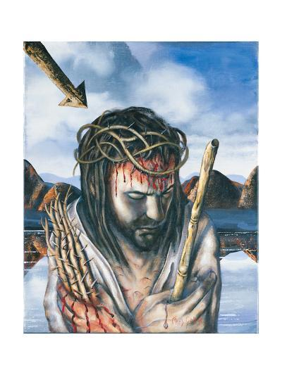 Jesus as the Man of Sorrows, 2003-Chris Gollon-Giclee Print