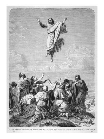 Jesus Ascends to Heaven--Giclee Print