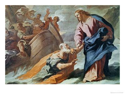 Jesus at the Sea-Luca Giordano-Giclee Print