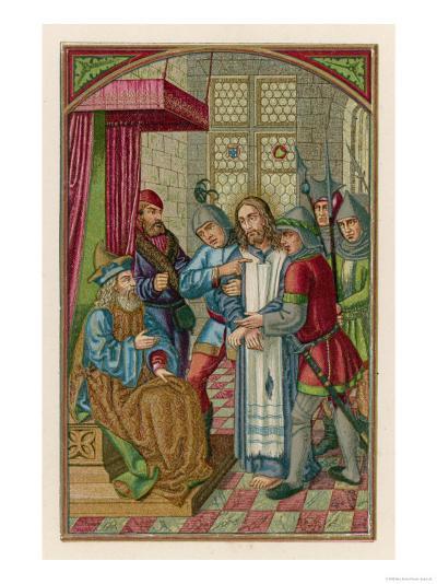 Jesus Before Herod--Giclee Print