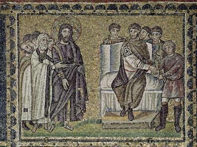 Jesus Before Pontius Pilate--Giclee Print