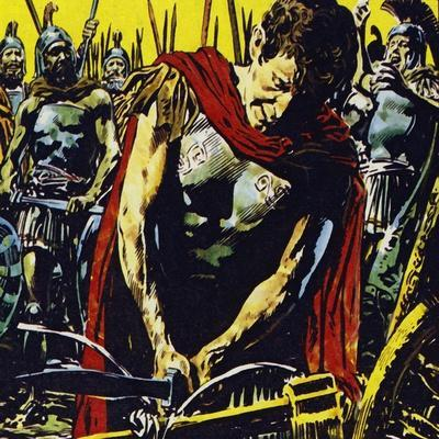 Alexander Slashed the Gordian Knot Apart with His Sword