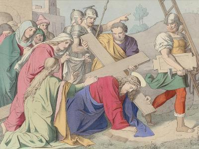 Jesus Carries His Cross--Giclee Print