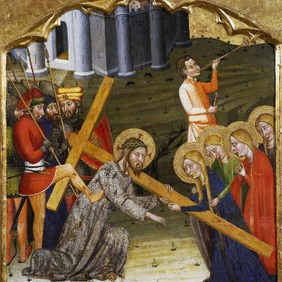 Jesus Carrying the Cross--Giclee Print