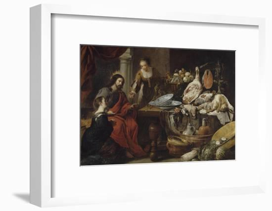 Jésus chez Marthe et Marie-Jan Fyt-Framed Giclee Print