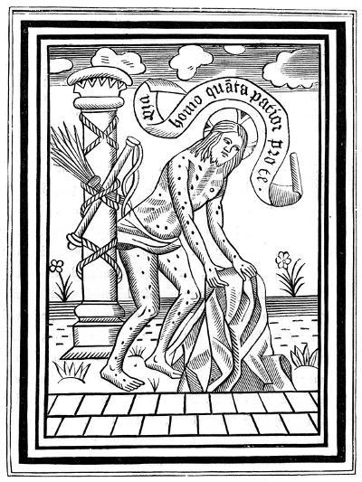 Jesus Christ after His Flagellation, C15th Century--Giclee Print