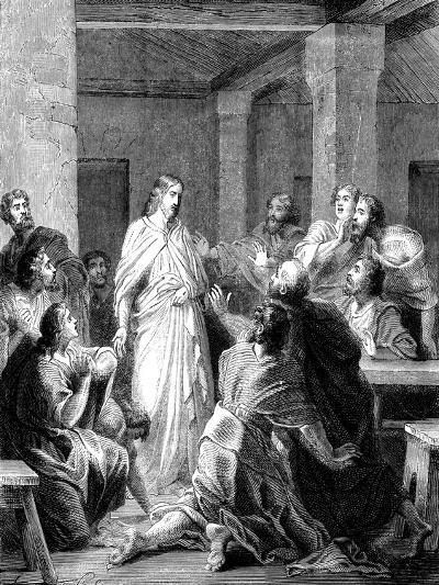 Jesus Christ Appearing to His Disciples after His Resurrection--Giclee Print