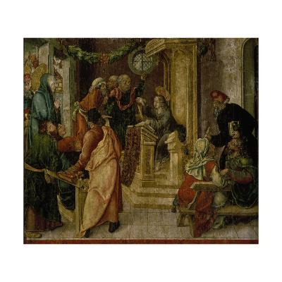Jesus Christ. at the Age of Twelve, Among the Scribes-Rudolf Stahel-Giclee Print