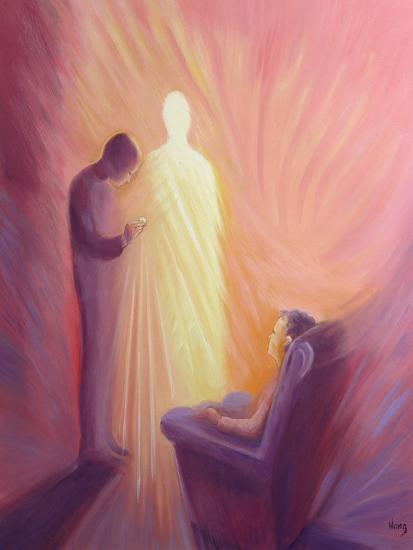 Jesus Christ Comes to Us in Holy Communion When We are Sick or Housebound, 1993-Elizabeth Wang-Giclee Print