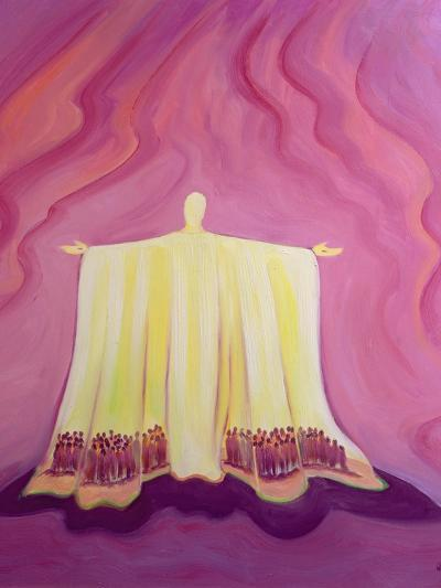 Jesus Christ Is Like a Tent Which Shelters Us in Life's Desert, 1993-Elizabeth Wang-Giclee Print