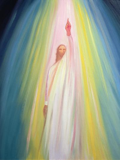 Jesus Christ Points Us to God the Father, 1995-Elizabeth Wang-Giclee Print