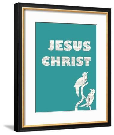 Jesus Christ-Veruca Salt-Framed Art Print