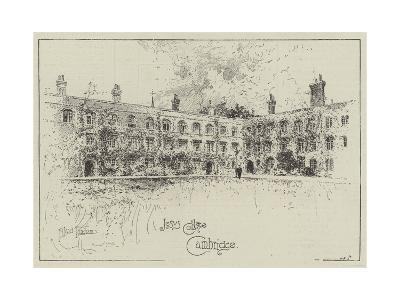 Jesus College, Cambridge-Joseph Holland Tringham-Giclee Print