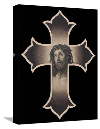 Jesus Cristo-Chuey Quintanar-Stretched Canvas Print