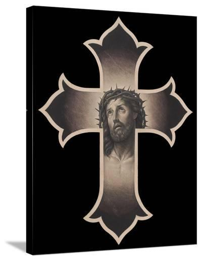 Jesus Cristo-Chuey Quintanar-Stretched Canvas Print