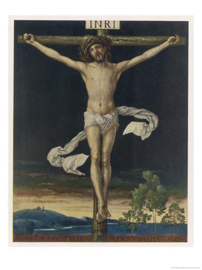 Jesus Crucified- Gefreuzigter-Giclee Print