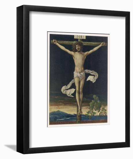 Jesus Crucified- Gefreuzigter-Framed Giclee Print
