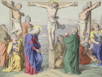 Jesus Died Upon the Cross--Giclee Print