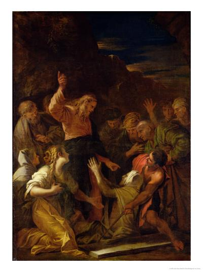 Jesus Healing the Leper, 1864-Jean-Marie Melchior Doze-Giclee Print