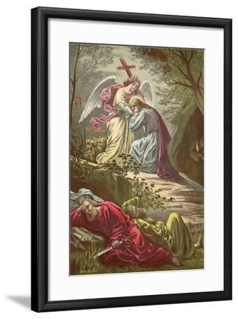 Jesus in the Garden of Gethsemane-North American-Framed Giclee Print