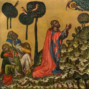 Jesus in the Olive Grove, C1350