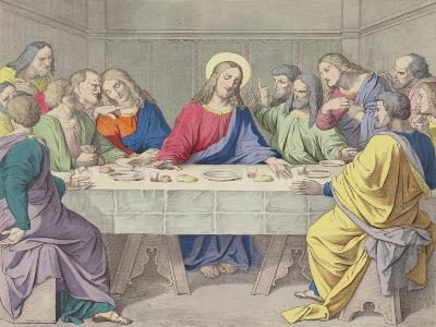 Jesus Institutes the Holy Eucharist--Giclee Print