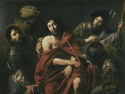 Jesus Insulted by the Soldiers-Jean Valentin De Boulogn-Giclee Print