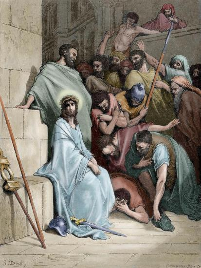 Jesus Insulted--Giclee Print