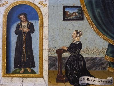 Jesus Invoked by Woman, Votive, 1846, Italy--Giclee Print
