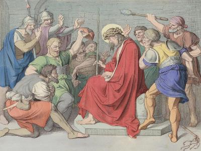 Jesus Is Crowned with Thorns--Giclee Print