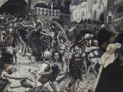 Jesus Led from Caiaphas-James Tissot-Giclee Print