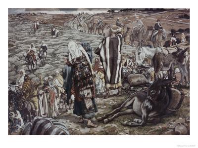Jesus Lost-James Tissot-Giclee Print