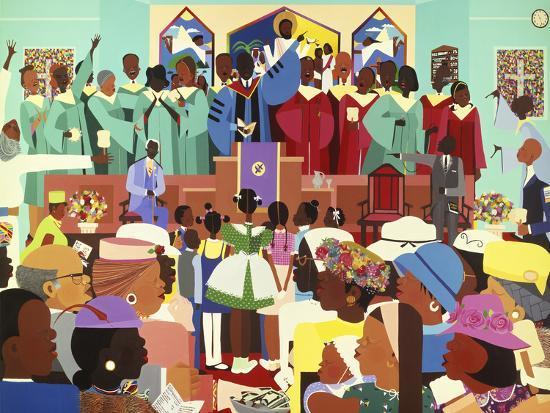 Jesus Loves Me Art Print by Varnette Honeywood | Art com