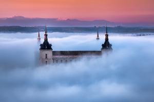 Toledo City Foggy Sunset by Jesús M. García