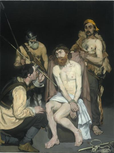 Jesus Mocked by the Soldiers, 1865-Edouard Manet-Giclee Print