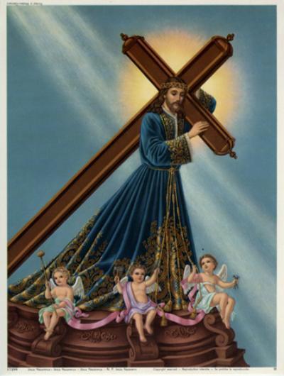 Jesus Nazarenus--Art Print