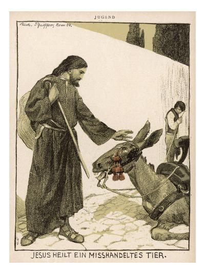 Jesus of Nazareth Religious Leader of Jewish Origin Who Preached 'Christianity'--Giclee Print