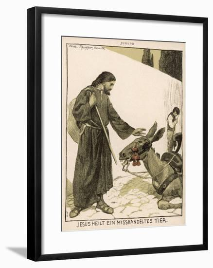 Jesus of Nazareth Religious Leader of Jewish Origin Who Preached 'Christianity'--Framed Giclee Print