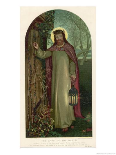 Jesus of Nazareth Religious Leader of Jewish Origin-William Holman Hunt-Giclee Print