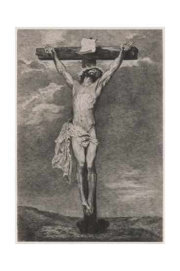 Jesus on Cross Vandyck-Sir Anthony Van Dyck-Giclee Print