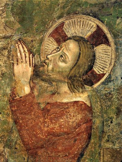 Jesus Praying in Garden--Giclee Print
