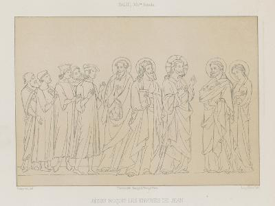 Jesus Receives the Envoys of John--Giclee Print
