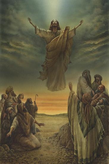 Jesus Resurrection-Val Bochkov-Giclee Print