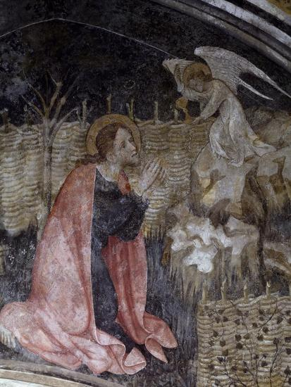 Jesus's Prayer in the Garden of Gethsemane, Detail from a Fresco by Giacomo Jaquerio--Giclee Print
